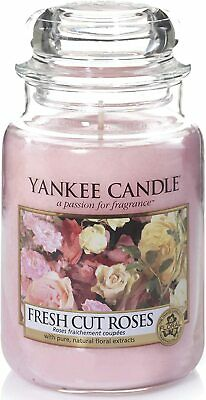 Yankee Candle Scented   Fresh Cut Large Jar Candle, Roses  • 25.49£