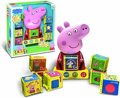PEPPA / PEPPER PIG - Peppa's Phonic Alphabet Ladybird Great Kids Xmas Gift NEW • 34.99£
