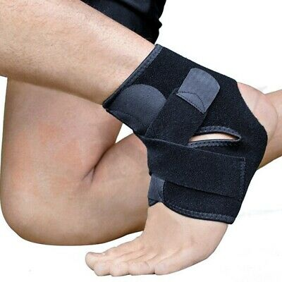 Medical Neoprene Ankle Compression Support Strap Brace Sports, Exercise New UK • 4.25£