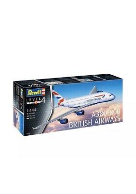 Brand New Revell 03922 1:144 Airbus A380-800 British Airways Model Kit • 30£