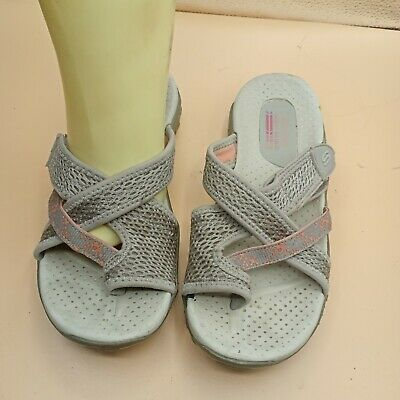 SKECHERS OUTDOOR LIFESTYLE Tan Beige Taupe Sandals Slippers Sketchers Size 7 • 25.32£
