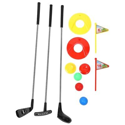 10x Kid's Child Golf Clubs Set Outdoor Golf Toy Golf Clubs Educational Toy Local • 16.69£