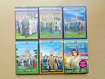 Downtown Abbey - All 6 PBS Seasons On 18 Discs • 22.70£
