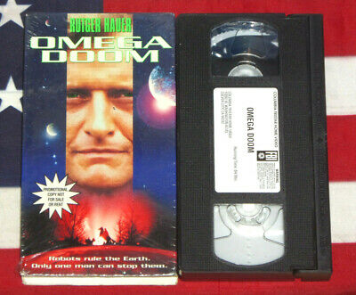 $ CDN12.58 • Buy Omega Doom (VHS, 1997, Promotional Copy) Rutger Hauer, Shannon Whirry, Sci Fi