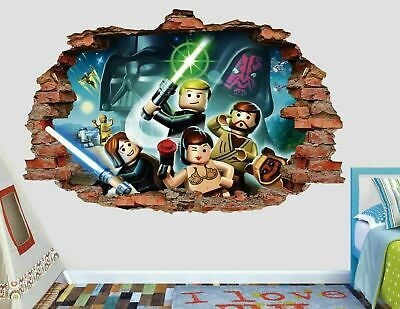 £32.13 • Buy Lego Star Wars Wall Decals Stickers Mural Home Decor For Bedroom Art AH423