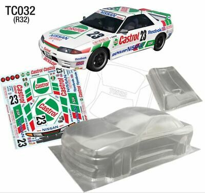###########1/10 Nissan Gtr R32 190mm Clear Body########### • 56.14£