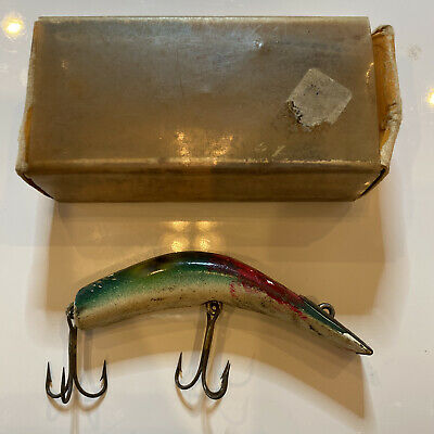 $ CDN12.54 • Buy Vintage Bomber Lures Kautzky Lazy Ike-3 With Box