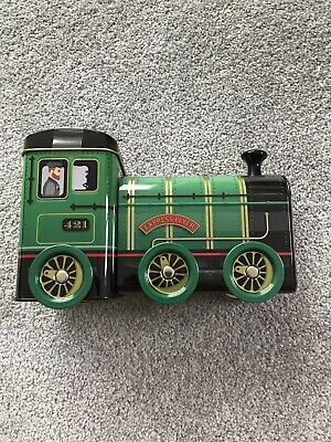 Novelty Collectable Steam Train Sweet Tin. Brand New With  Fudge. • 9£