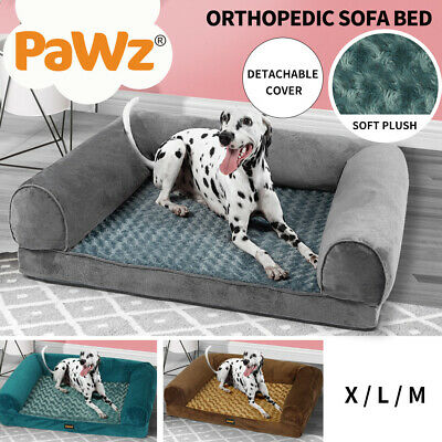 AU39.99 • Buy Pet Bed Orthopedic Sofa Dog Beds Bedding Soft Warm Mattress Cushion Pillow Mat