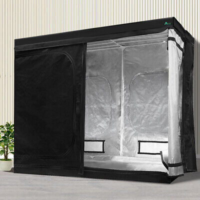AU183.90 • Buy Greenfingers Grow Tent Kits 2.4Mx1.2Mx2M Hydroponics Indoor Grow System Black