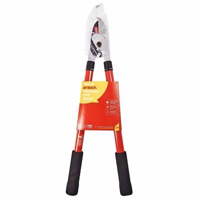 Amtech Heavy Duty Telescopic Anvil Lopper Garden Ratchet Tree Pruner • 17.11£