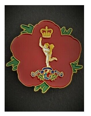 Royal Corps Of Signals ( 37-RCS ) 🌺 Flower Of Remembrance 3D • 8.95£