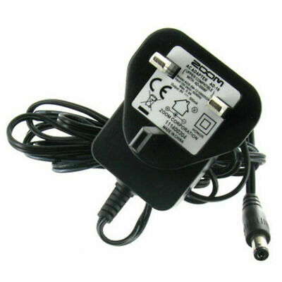 Official Zoom Ad-16 9v 500ma Ac Regulated Power Supply Adapter • 5.95£