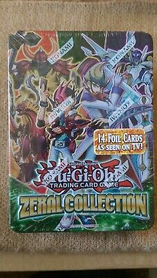 Yugioh Zexal Collection Duelist Tin New Factory Sealed DAMAGED TIN • 18.99£
