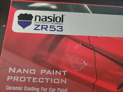 $100 • Buy Nasiol ZR53 High Quality Nano Ceramic Coating 9H Paint Protection