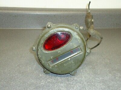 $67.50 • Buy Vintage Guide Tail Light 9776050 24v Military Army Jeep Tank Transporter