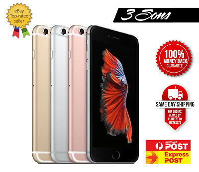 AU318 • Buy Apple IPhone 6 Plus + Plus 16GB, 64GB, 128GB  Gold Silver Grey Unlocked CHEAPEST