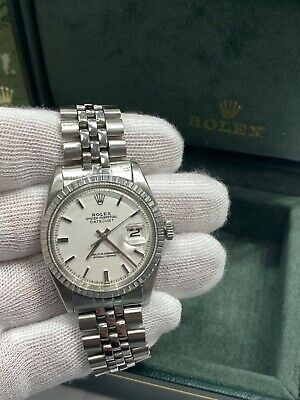 $ CDN5081.96 • Buy Rolex Datejust 1603 Pie Pan White Dial Stainless Steel With Box And Booklets