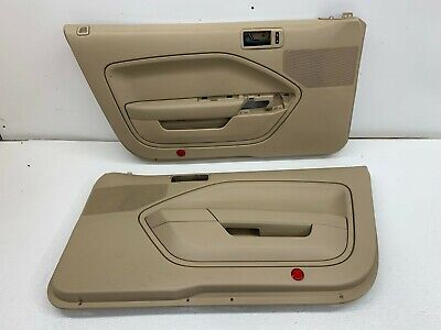 $180 • Buy 2005-2009 OEM Ford Mustang Tan Door Panels LH & RH Pair Base |S8257