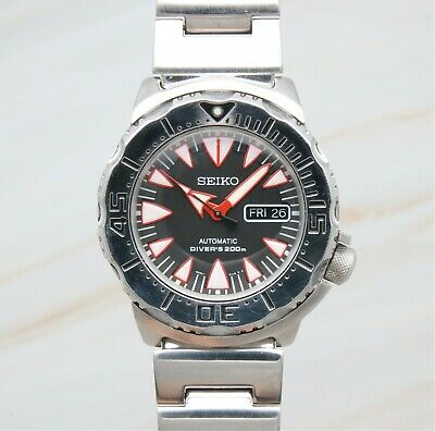 $ CDN751.28 • Buy Seiko Superior SRP313K1 Dracula Monster Men's 200m Automatic Diver Extra Strap