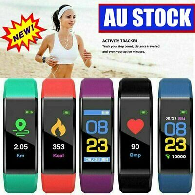 AU12.93 • Buy Smart Watch Band Sport Activity Fitness Tracker  Fit Bit Android IOS DM