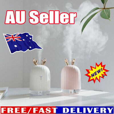 AU17.97 • Buy 7 LED USB Ultrasonic Air Humidifier Essential Oil Aroma Diffuser Aromatherapy DM