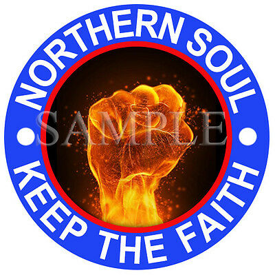 Northern Soul, Hand Of Fire Car Vinyl Sticker U.k Post Only • 3£