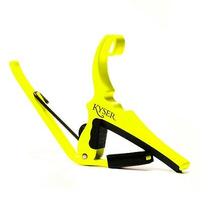 $ CDN25.15 • Buy Kyser KG6NY Quick-Change Acoustic Guitar Capo  Neon Collection  - Neon Yellow