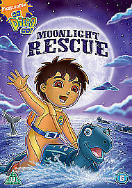 Go Diego Go - Moonlight Rescue (DVD, 2010) • 8.65£