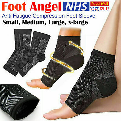 2x Plantar Fascitis Foot Compression Socks Arch Heel Support Pain Relief Sleeve • 2.85£