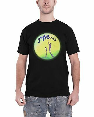 Genesis Mens T Shirt Black Watchers Of The Skies Band Logo Official • 14.95£