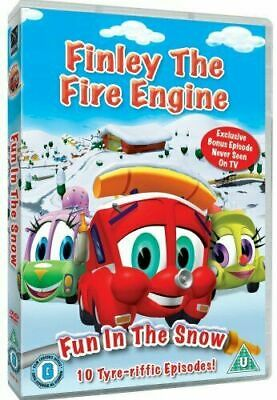 Finley The Fire Engine: Fun In The Snow  DVD (2009)   FREE SHIPPING • 1.98£