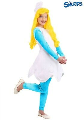 £16.36 • Buy Girls The Smurfs Smurfette Costume SIZE XL (Used)