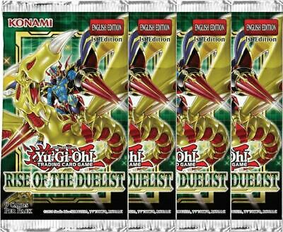 Rise Of The Duellist | ROTD | 1st Edition | 4 Sealed Booster Packs - Yu-Gi-Oh!  • 15.95£