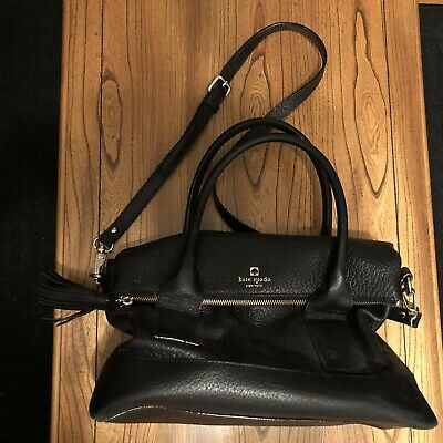 $ CDN79.95 • Buy Kate Spade Black Pebbled Leather Shoulder Bag/Purse