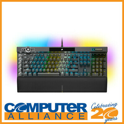 AU409 • Buy Corsair Wired K100 RGB Optical Mechanical Gaming Keyboard OPX Switches CH-912A01