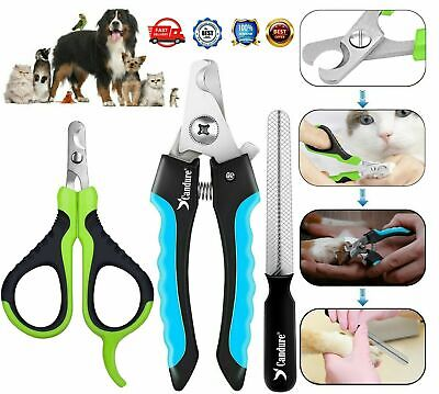 Professional Pet Dog Nail Clipper Cutter Animal Claw Trimmer Groming Large Small • 3.29£