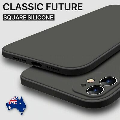 AU7.95 • Buy Shockproof Silicone Case Bumper Heavy Duty Cover For IPhone 12 11 Mini Pro Max X