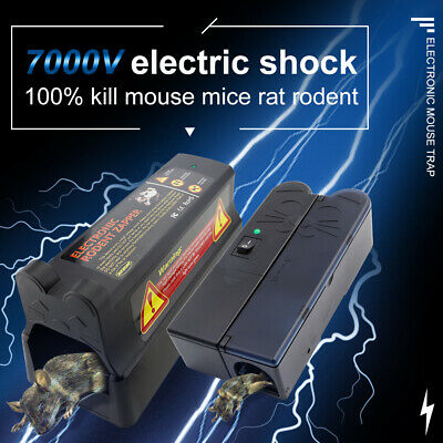 £27.99 • Buy Electronic Mouse Trap Mice Rat Killer Pest Victor Control Electric Rodent Zapper