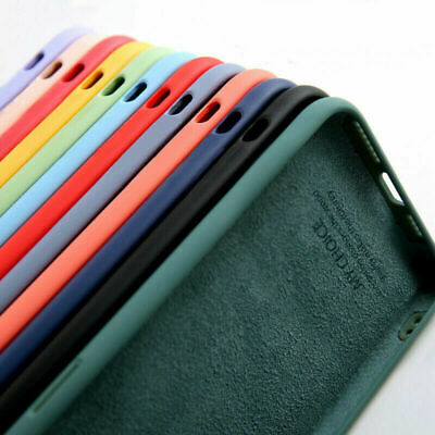 $ CDN3.62 • Buy For Samsung Galaxy Note 20 S21 S20 FE A71 S8 S9 Soft Liquid Silicone Case Cover