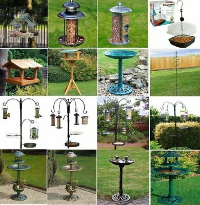 £23.99 • Buy New Bird Feeding Station Hotel Wild Bird Feeder Outdoor Window Table Meal Solar