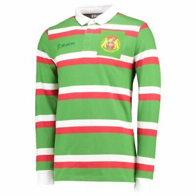 Leicester Tigers Rugby Shirt Mens 125 Years Welford Road Classic Jersey - New • 19.99£