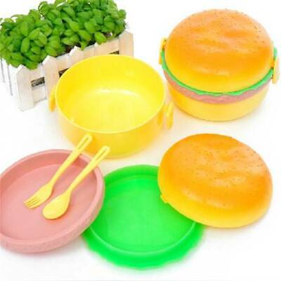 Lunch Box Set Kids Handy Box Dinner Pail Office Office Lunch Case HY • 4.54£