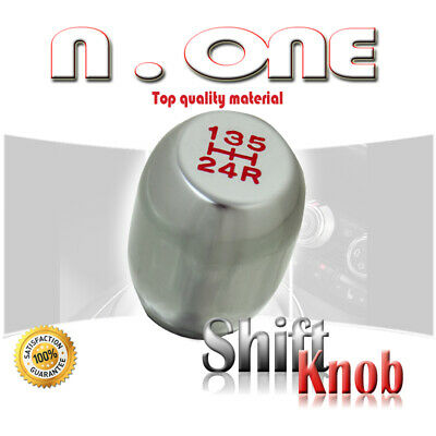$13.39 • Buy SILVER 5 SPEED MANUAL TRANSMISSION CAR SHIFT KNOB LEVER COVER Fit Honda