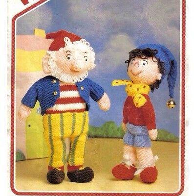 Noddy And Big Ears Toy Knitting Pattern Fully Laminated To Protect Pattern • 1.15£