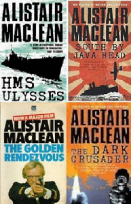 Alistair MacLean Audio Book Collection 28 Audio MP3 's + 31 Ebooks On 2x DVD Rom • 10£