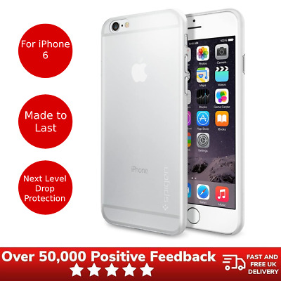 AU17.82 • Buy IPhone 6 Protective Case Spigen Air Skin Protective Cover - Clear