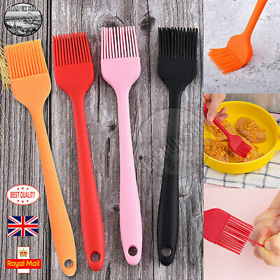 Colourful Silicone Baking BBQ Basting Brush Pastry Bread Cooking Bakeware  • 2.99£