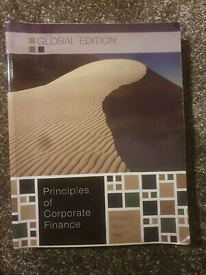 £12.50 • Buy Principles Of Corporate Finance By Stewart C. Myers, Richard A. Brealey...
