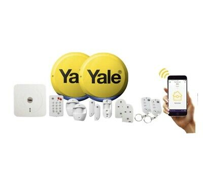 Yale SR-340+ Smart Home Alarm, View & Control Kit PLUS • 410£